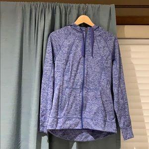 Purple Champion athletic jacket/sweater